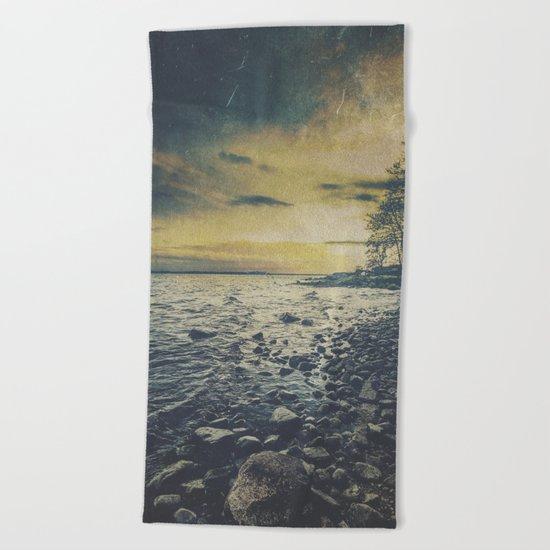 Dark Square Vol. 1 Beach Towel