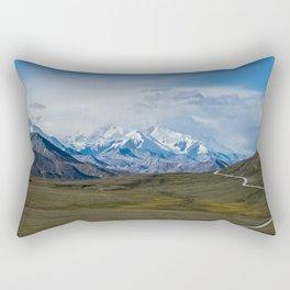 Mount McKinley Denali National Park Alaska Rectangular Pillow