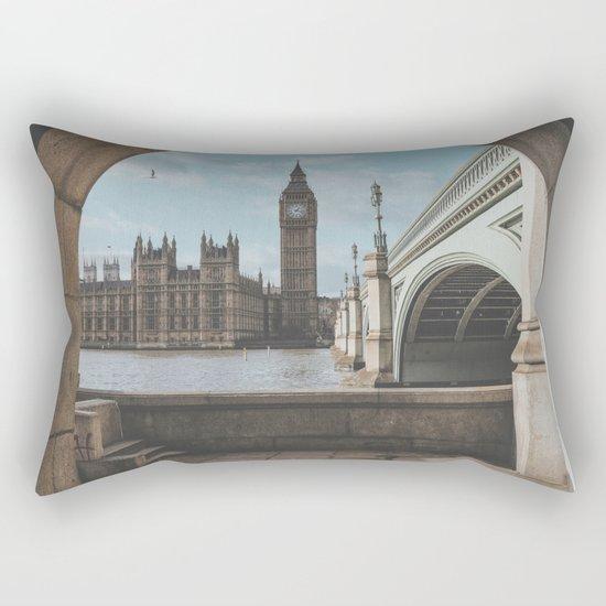 London, United Kingdom Rectangular Pillow
