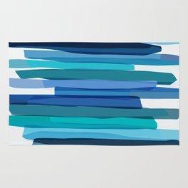 Blue Stripes Rug