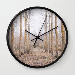 Poplar forest Wall Clock