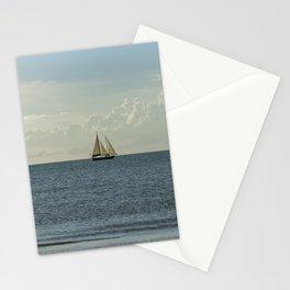Sailing Along the Coast Stationery Cards