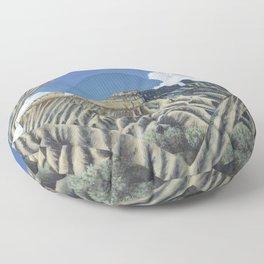 Mount Garfield Polyscape Floor Pillow