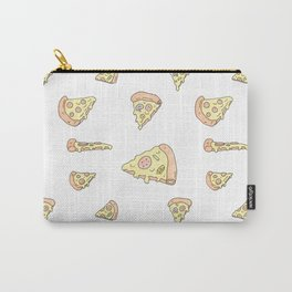 The Perfect Pizza Slices! Cartoon Pattern Carry-All Pouch