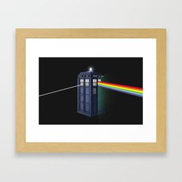 The Dark Side of the Booth Framed Art Print