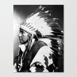 Nsego Shoshone American Canvas Print