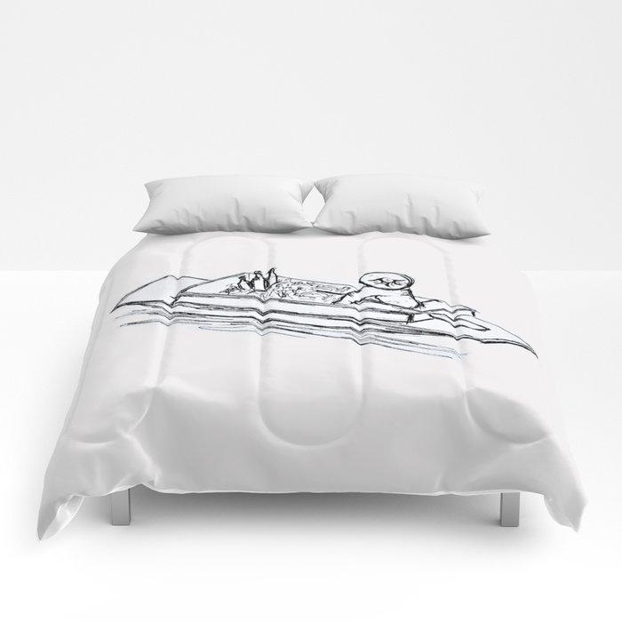 Floating Market Comforters