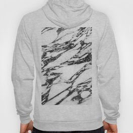 Modern Black and White Marble Stone Hoody