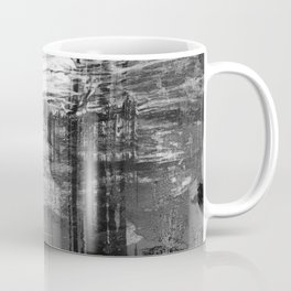 Spectral // black and white abstract ink painting Coffee Mug