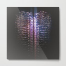 infra-heart Metal Print