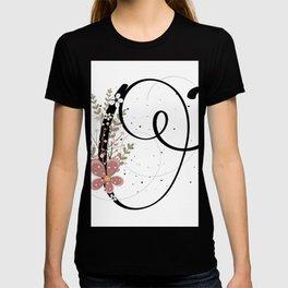Letter O of the alphabet T-shirt