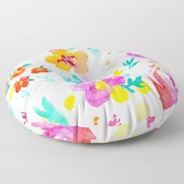 A Little Tropical Floor Pillow