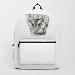 Owl Stare by annmariescreations Backpack