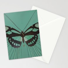 Turquoise Butterfly Stationery Cards