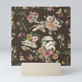 """Botanic Wars"" by Josh Ln Mini Art Print"