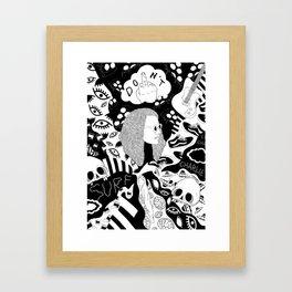 Charlie Don't Surf Framed Art Print
