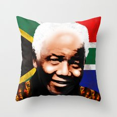 Nelson Mandela Madiba ♥ Throw Pillow