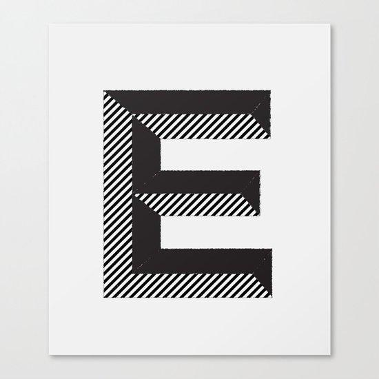E for.... Canvas Print
