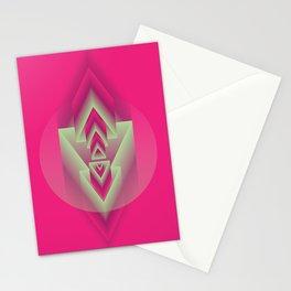 Pink Descent Stationery Cards