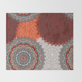 Boho Love Mandelas Throw Blanket