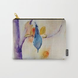 NutHatch Down watercolour by CheyAnne Sexton Carry-All Pouch