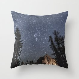 Orion | Nature and Landscape Photography Throw Pillow