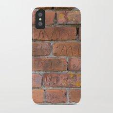 Initially Brick iPhone X Slim Case