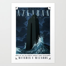 Visit Azkaban Prison Art Print