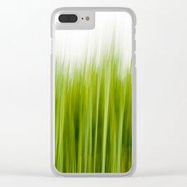 Grass wipe --- Gras-Wusch Clear iPhone Case