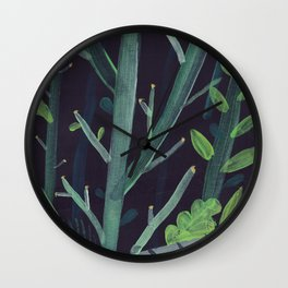 Forest Wall Wall Clock