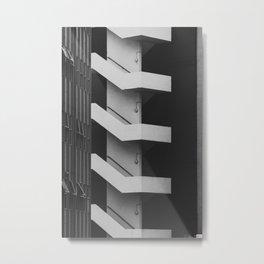 Emergency Escape Metal Print