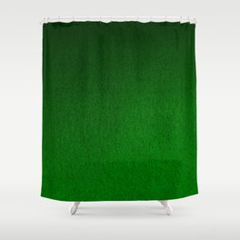 Emerald Green Ombre Design Shower Curtain