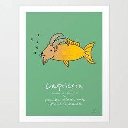 Capricorn Art Print