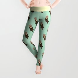 Have an Otterly Great Day! Leggings