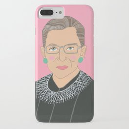 Ruth Bader Ginsberg iPhone Case