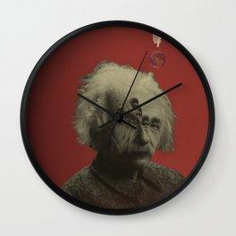 albert und ein cut Wall Clock