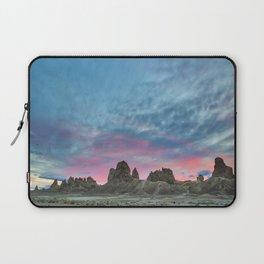Pastel Rainbow Sunset : Tronna Pinnacles Laptop Sleeve