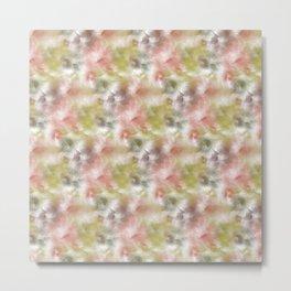 Bristle Flowers Metal Print