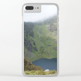 Wales Landscape 21 Cader Idris Mountain Lake Clear iPhone Case