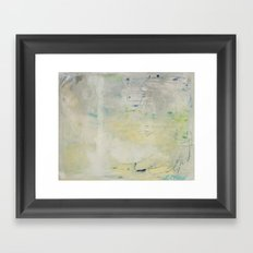 Under the Surface Framed Art Print
