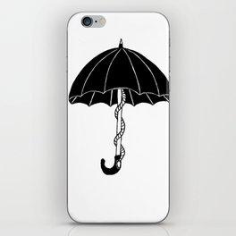 Secret parasol iPhone Skin