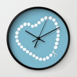 Pearl by Pearl / Perle par Perle / Martin Moreau Wall Clock