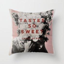 Tastes So Sweet Throw Pillow