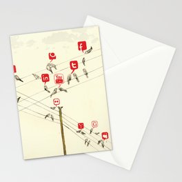 Bird Society Stationery Cards