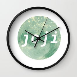 Joji Wall Clock
