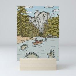 Unlikely Company Mini Art Print