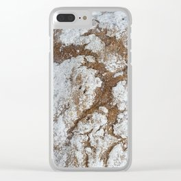 loaf of bread Clear iPhone Case