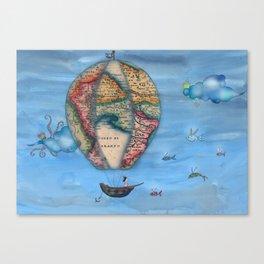 Pirate Balloon 2 Canvas Print