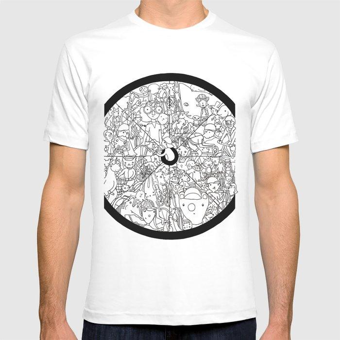 Bike Spokes & Folks T-shirt