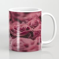 moulin rouge Mugs featuring Rouge by Zayda Barros